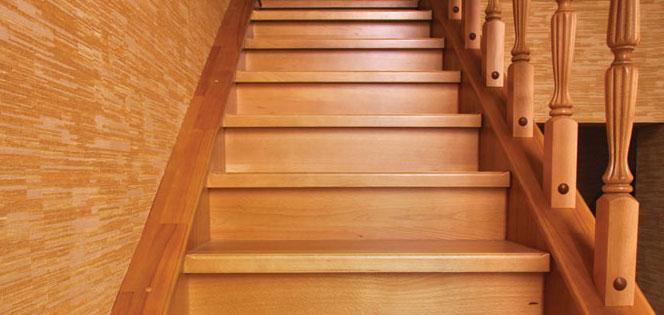 Лестницы для дома под Ваш размер : Лестница с балясинами